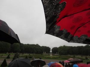 Nordkirchen im Regen