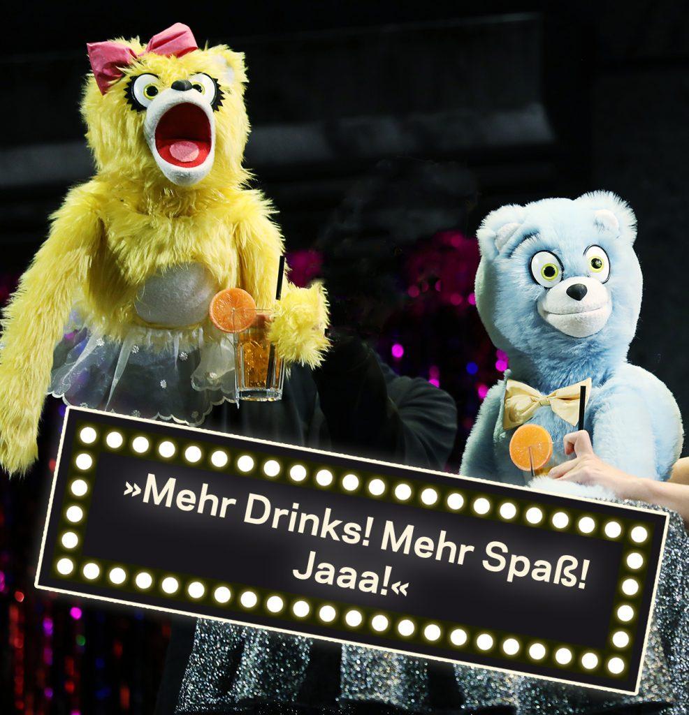 Die Bullshit-Bären in der Avenue Q