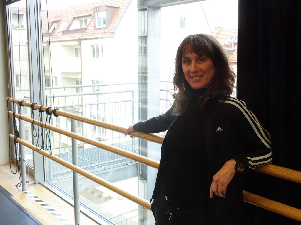Sarah Deltenre im Tanzsaal