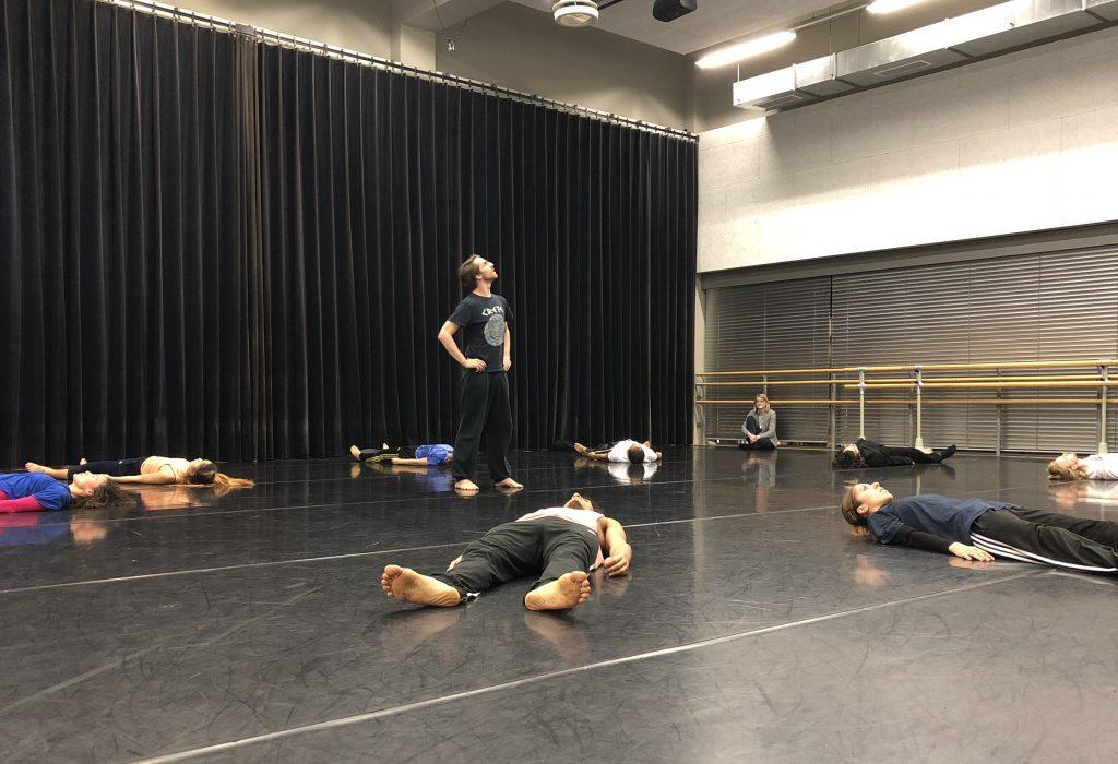 TänzerInnen in der Probe